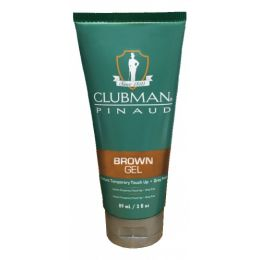 Clubman Pinaud Temporary Colour Gel Brown - 89ml