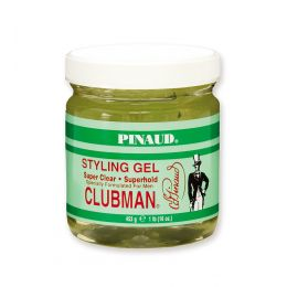 Clubman Pinaud Super Hold Gel Jar - 453g