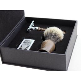 Frank Shaving Luxury Wooden Handle Shaving Set