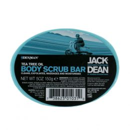Jack Dean Tea Tree Body Scrub Bar