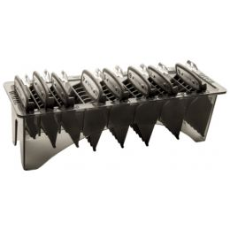 Wahl 10 Piece Premium Cutting Guides in Caddy