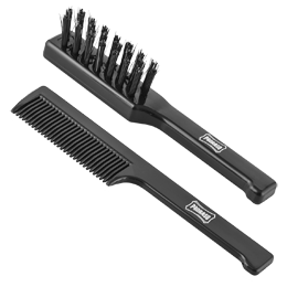 Proraso Beard Brush & Moustache Comb Set