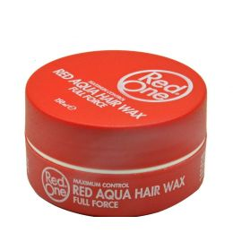 Red One Aqua Hair Wax Full Force Strawberry RED - 150ml