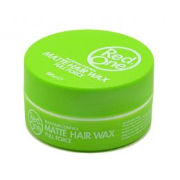 Red One Matte Hair Wax Full Force GREEN - 150ml