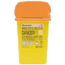 1 Litre Sharpsafe Blades Disposal Box