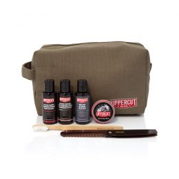 Uppercut Deluxe Filled Army Green Washbag
