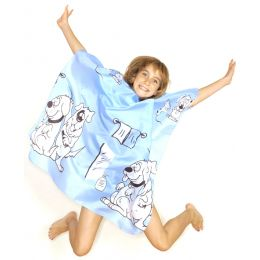 Hair Tools Children's Doggy Gown in Blue