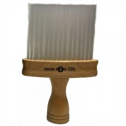 Head Jog 196 Natural Wood Neck Brush