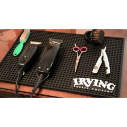 Irving Barber Co. Work Station Mat