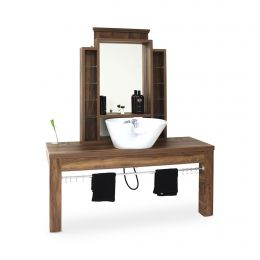 REM Montana Barbers Unit with Basin