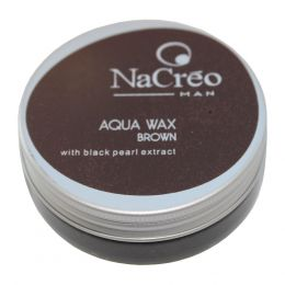 NaCreo Man Aqua Wax - Brown