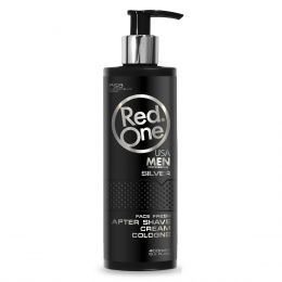 Red One SILVER Cream Cologne - 400ml