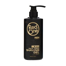 Red One GOLD Shaving Gel - 500ml