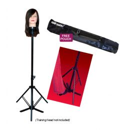 Hair Tools Training Head Tripod With Carry Pouch