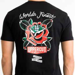 Uppercut Deluxe World's Finest T-Shirt in Black