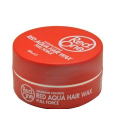Red One Aqua Hair Wax Full Force Strawberry Red 150ml