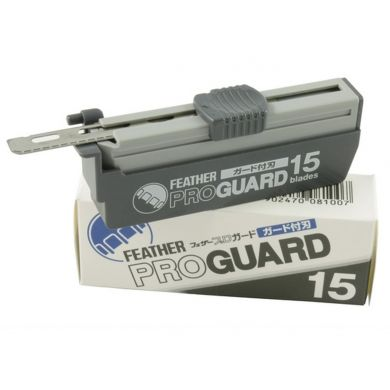 15 x Feather Pro Guard Blades