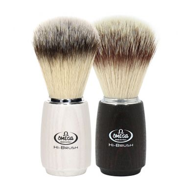 Omega Hi-Brush Synthetic Badger Shaving Brush