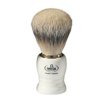 Omega Pure Badger Shaving Brush