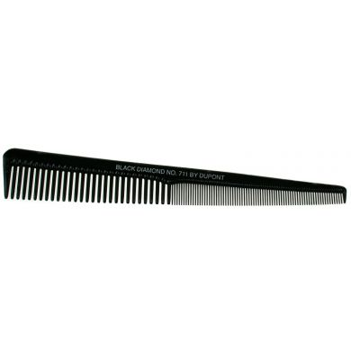 Starflite Black Diamond Tapered Barber Comb