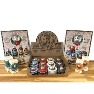 Barber Mind Retail Pack  - 12 Products & Display Stand