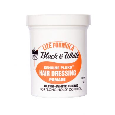 Black & White Lite Pomade Wax 200ml