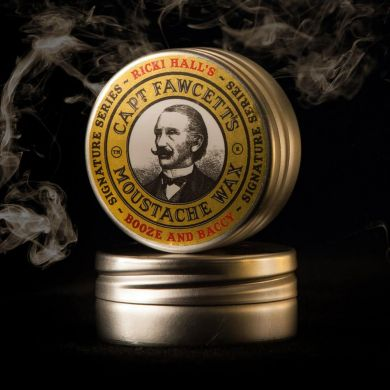 Captain Fawcett Booze & Baccy Moustache Wax By Ricki Hall - 15ml