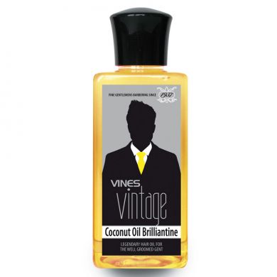 Vines Vintage Coconut Oil Brilliantine - 200ml
