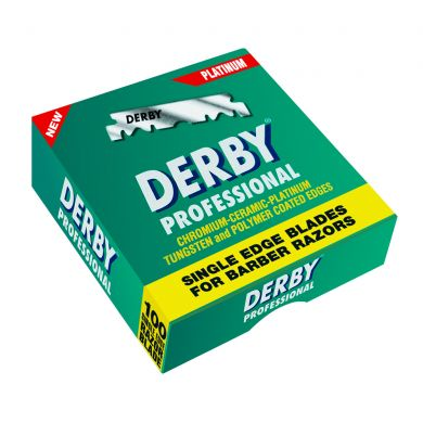 100 x Derby Professional Single Edge Razor Blades