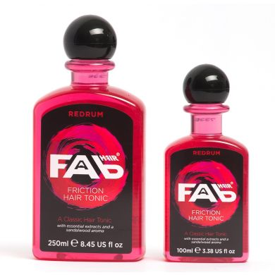 Fab Hair Red Rum Friction Hair Tonic