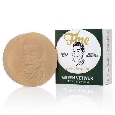 Fine Accoutrements Green Vetiver Shaving Soap - 100g