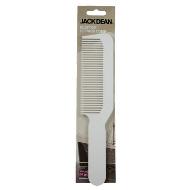 Jack Dean Clipper Comb - White