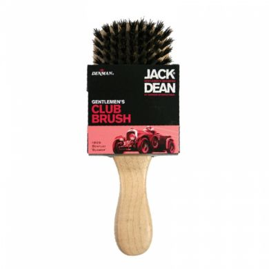 Jack Dean Gents Club Brush - Light Wood