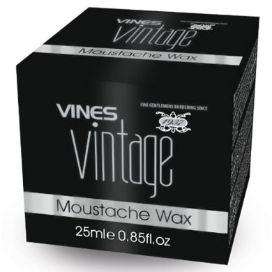 Vines Vintage Moustache Wax - 25ml