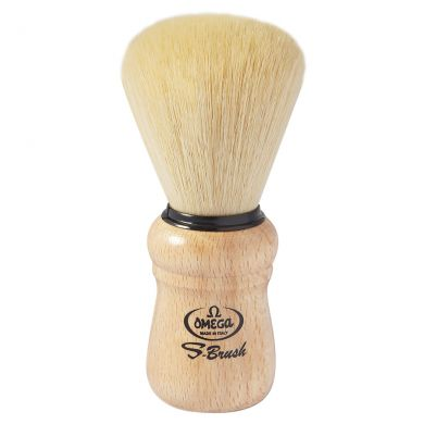 Omega S-Brush Wooden Handle