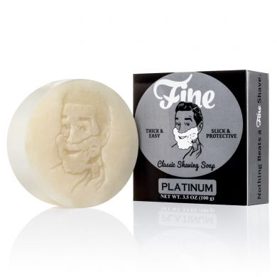 Fine Accoutrements Platinum Shaving Soap - 100g