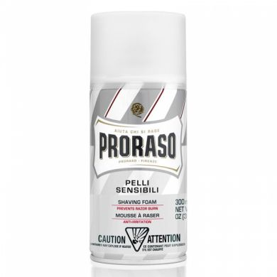 Proraso Sensitive Skin Shaving Foam Can - 300ml