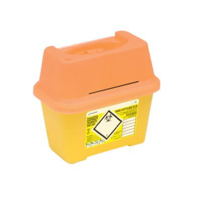 2 Litre Sharpsafe Blades Disposal Box