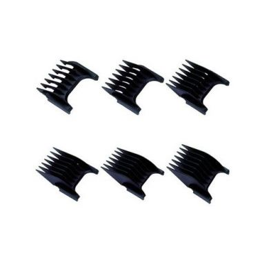 Wahl 6 Piece Attachment Combs for Cordless Clippers