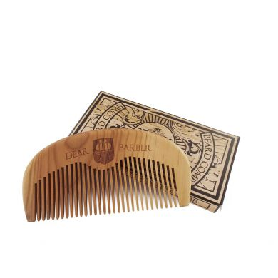 Dear Barber Wooden Beard Comb