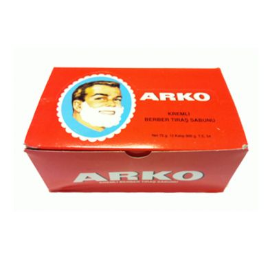 Box of 12 Arko Shaving Soap Sticks