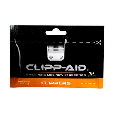 Clipp-Aid Sharpening Crystals For Medium Clippers Blades (Individual Sachet)