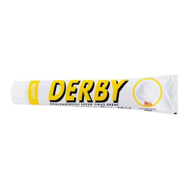 Derby Shaving Cream Tube - Lemon