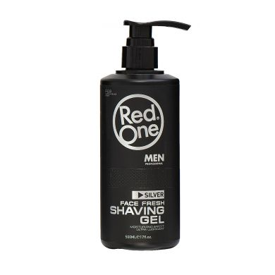 Red One SILVER Shaving Gel - 500ml
