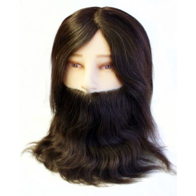 Hair Tools Training Head - Gents With Beard